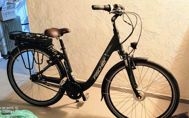 Rower elektryczny Fischer miejski e bike