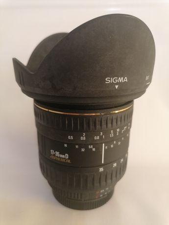 SIGMA 17-35mm f2. 8-4