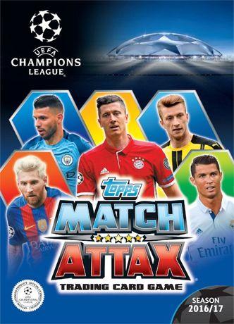 Champions League 2016-17, 2017-18 Cartas , 2020-21 cromos Topps