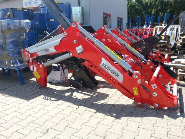 Ładowacz Czołowy Inter-Tech Tur Euroramka IT1300 IT 1600 kg Joystick