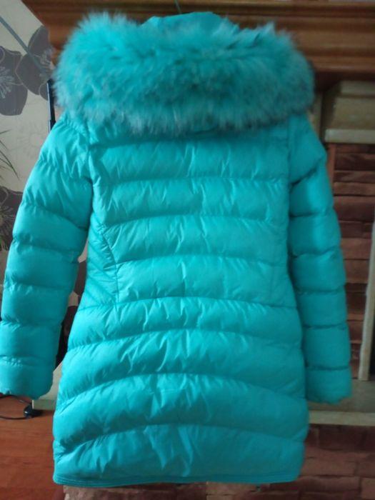 Kurtka zimowa turkusowa Osówiec - image 1