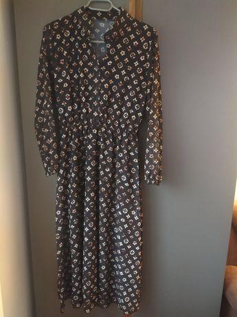 Sukienka Midi z podszewką S M