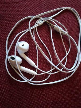 Słuchawki Apple białe