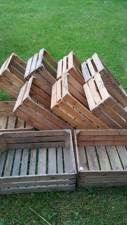 skrzynki drewniane na owoce / na meble
