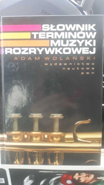 Słownik Terminów Muzyki Rozrywkowej Adam Wolański