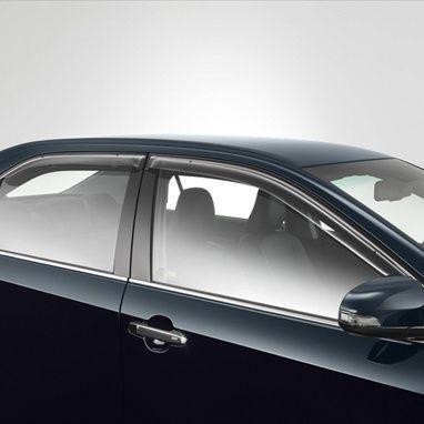 Дефлекторы окон (оригинал) для Toyota Camry (2011-2017)