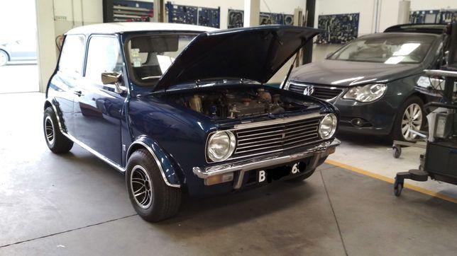 Mini Clubman 1971 restaurado