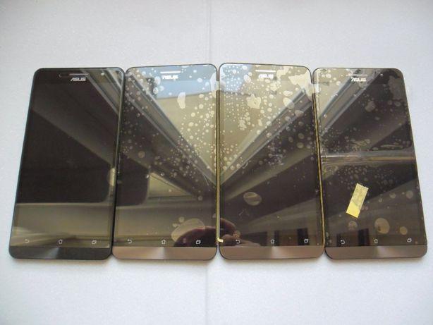 4 x Wyświetlacz LCD Asus Zenfone 6 A600CG Czarne
