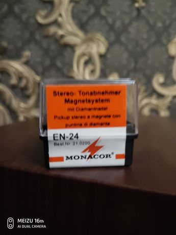Головка звукоснимателя Monacor EN24.Новая.