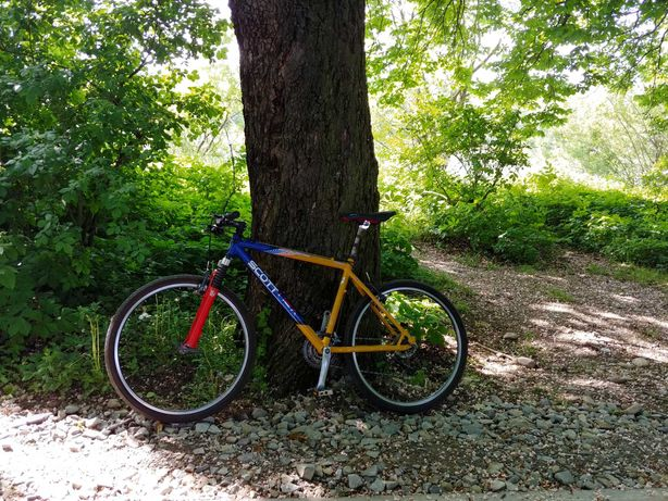 Rower Scott Comp 99' (Deore LX, RockShox)