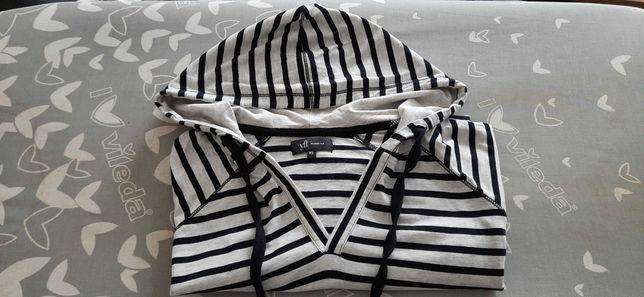 Bawełniana bluza w paski reserved XS