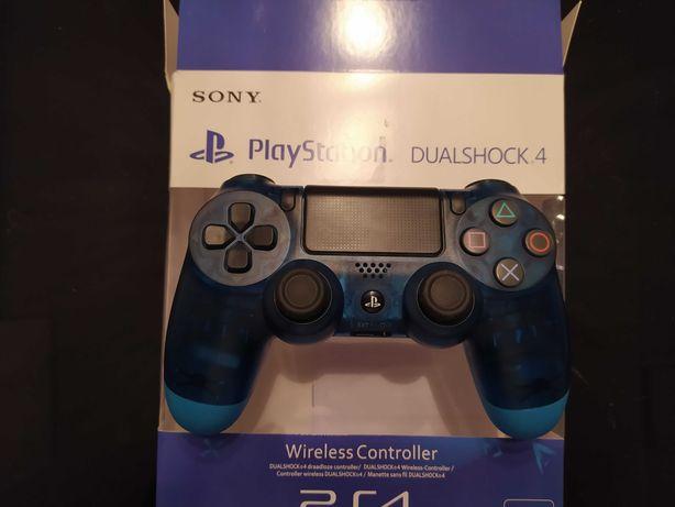 Pad PS4 Dualshock 4 V2 nowy w pudełku niebieski kryształ