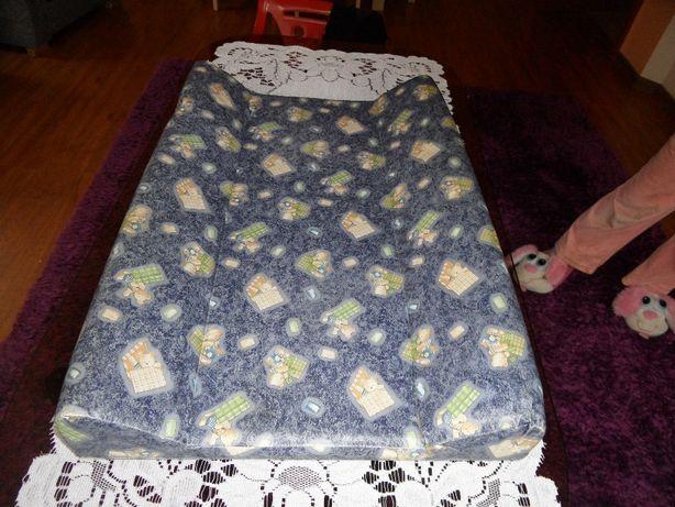 Przewijak -Ochraniacz do łóżeczka różowy-Rożek cieplutki różowy 9 zł