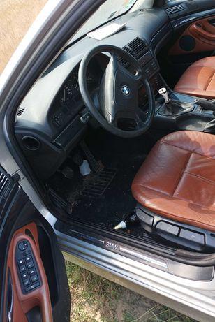 BMW e39 seria 5, touring 520i części, arktissilber metallic, drzwi