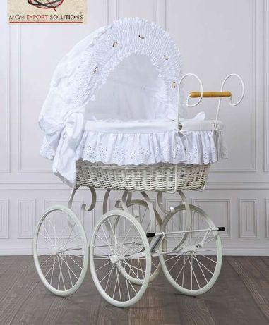 Alcofa de bebé ou carro de bebé modelo clássico