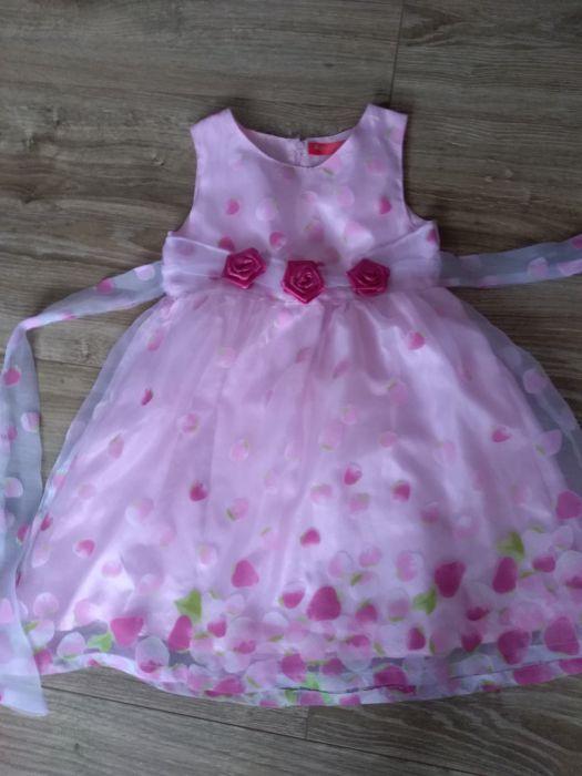 elegancka sukienka dla dziewczynki Siekierczyn - image 1