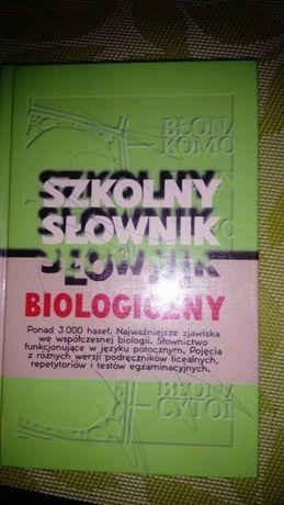Słowniki Szkolne - historia, biologia, język polski