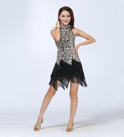 Sukienka do tanca towarzyskiego