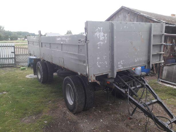 Przyczepa wywrotka prawo, lewo, ciężarowo-rolnicza 12 ton