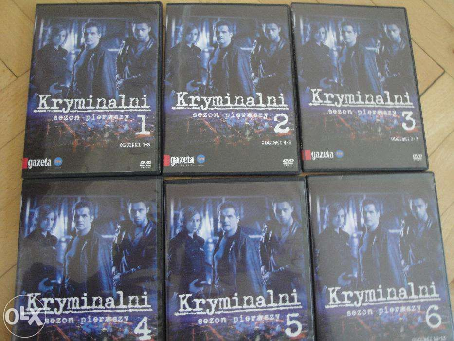 Kryminalni sezon I na DVD Tęgoborze - image 1