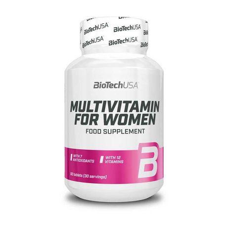 Мультивітаміни для жінок Multivitamin for Women BioTech USA 60 tabs