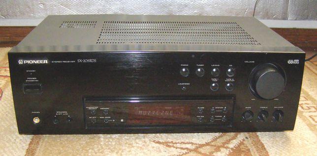 Amplituner PIONEER RDS wzmacniacz i radio dobre stereo