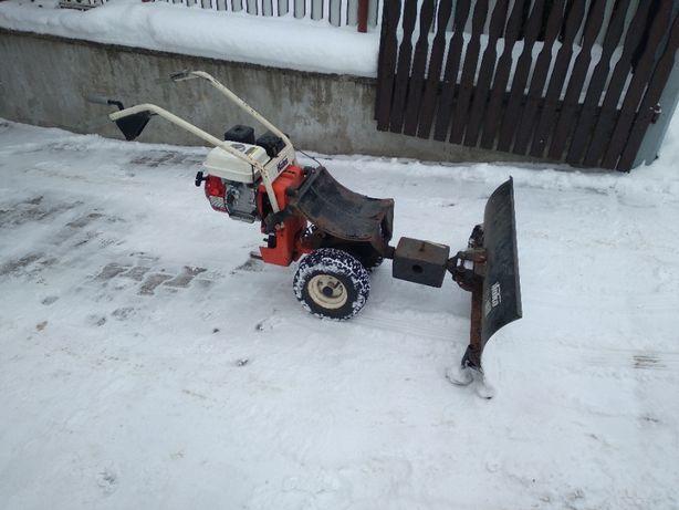 Kosiarka-traktorek HAKO + osprzęt