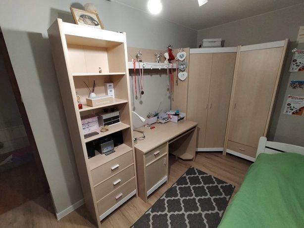 + Gratis Meble młodzieżowe dziecięce Szafa regały biurko łóżko szuflad