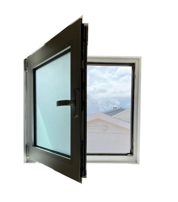 Janelas de correr aluminio anodizado corte térmico vidro duplo climalT