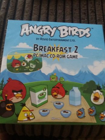 Angry birds. breakfast 2 pc/mac cd-rom game