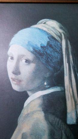 Dziewczyna z perla-reprodukcja