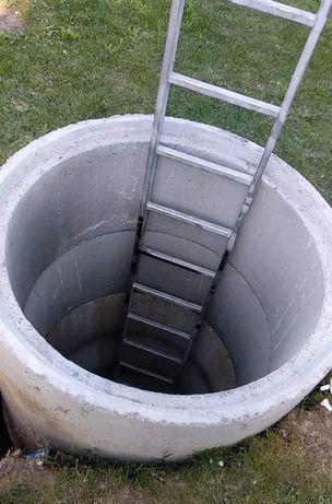 Kopanie studni, Studnie kręgowe betonowe