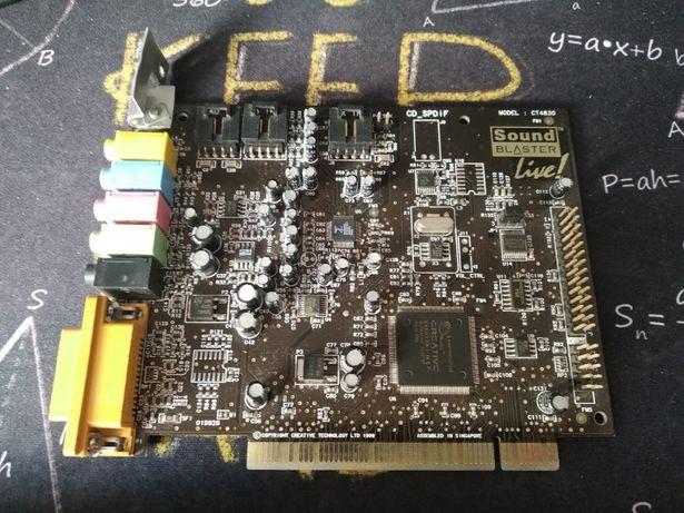 Karta muzyczna SOUND BLASTER 5.1 PCI