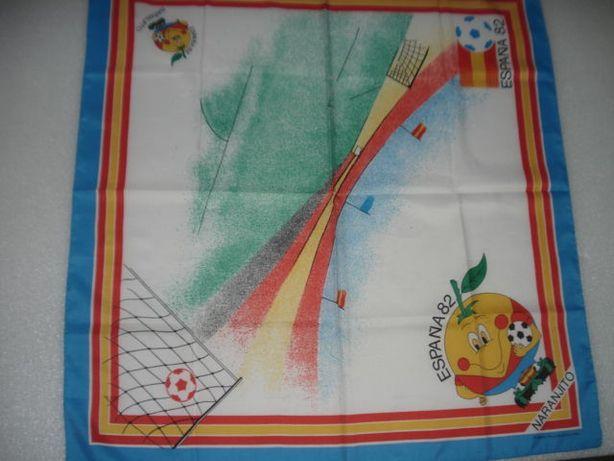 Antigo Lenço/Toalha Mundial Espanha 82 Naranjito