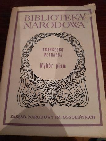 Francisco Petrarca Wybór pism Biblioteka Narodowa