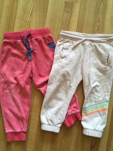 Spodnie dresowe 86 92