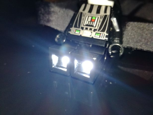 Darth Vader led lite Lego Star Wars