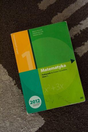 Matematyka 1 podręcznik, zakres podstawowy - Pazdro