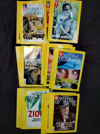 Czasopisma National Geographic Polska - likwidacja kolekcji