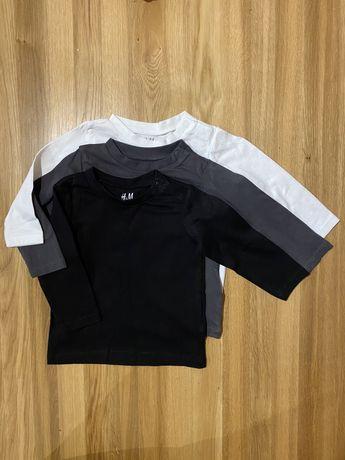 Nowe bluzki H&M rozmiar 68