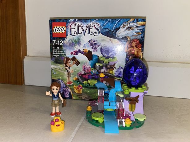 Lego Elves Emily Jones i mały smok