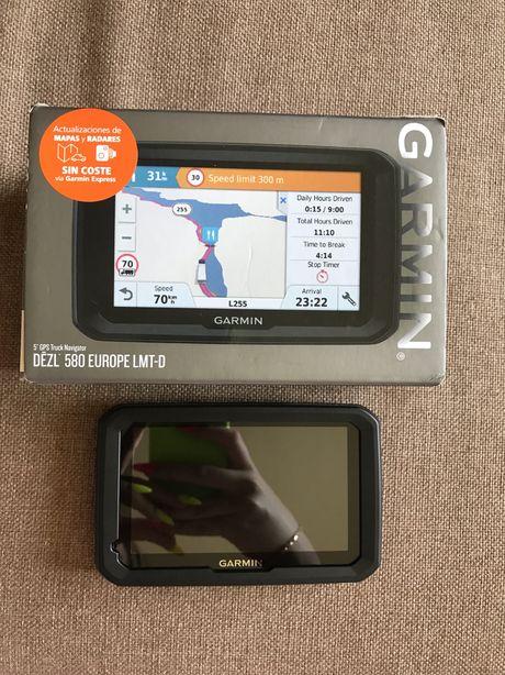 Навигатор Garmin dezl 580 Europe lmt-d