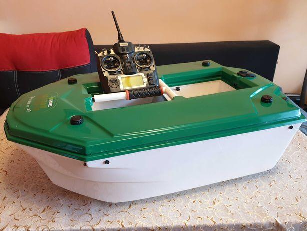 Łódka zanętowa FROG 2 + echosonda LUCKY FF918-C