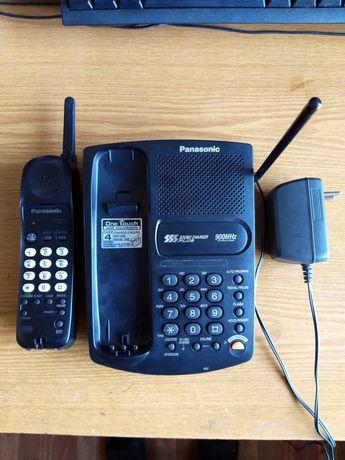 радіотелефон 900мГц Panasonic KX-TC1455BXB + акумулятор