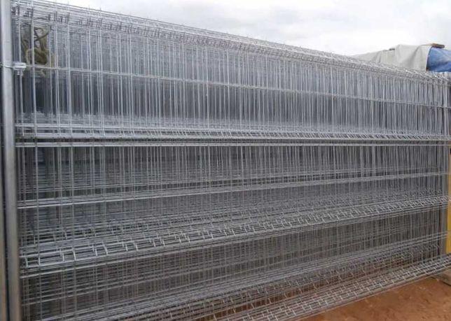 Painel Rede Vedação Zincada com Base de Cimento - Novo