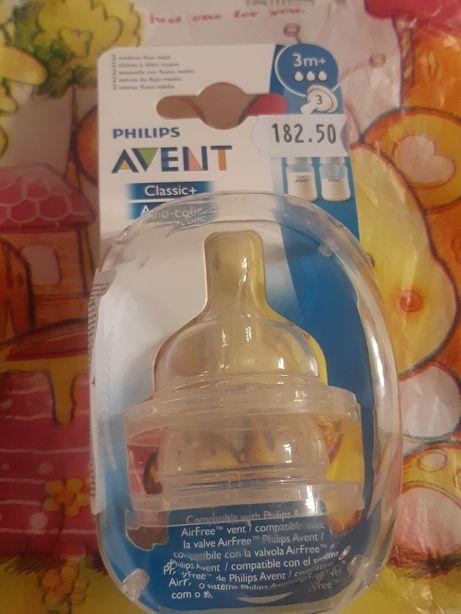 Соски  на бутылочку AVENT