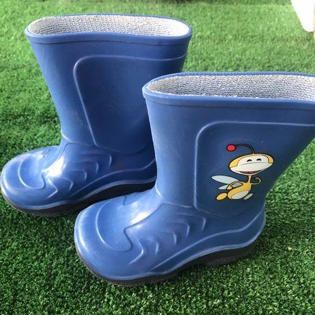 Резиновые ботинки 21 р