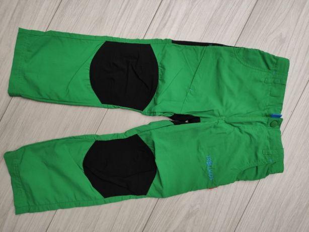 Spodnie trekkingowe chłopięce 110 jak nowe