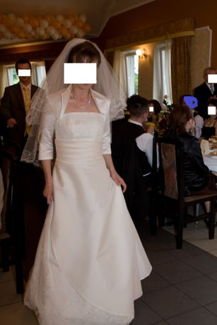 Suknia ślubna XS ecru