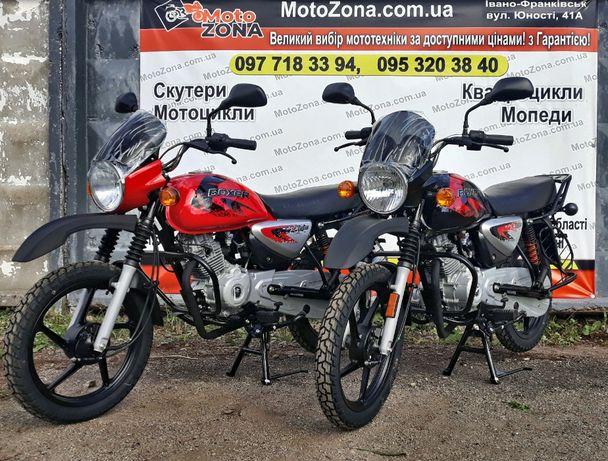 Мотоцикли Bajaj Boxer 125/150X Cross Індія (гарантія 2-роки) Кредит!